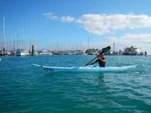 Giada en Kayak