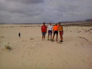 Braulio en las dunas