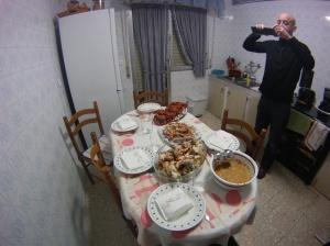 Una mesa de lujo